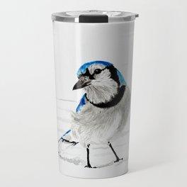 Blue Jay (Cyanocitta cristata) Travel Mug