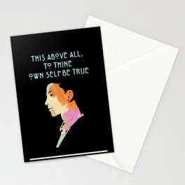 To Thine Own Self Stationery Cards