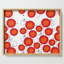 Layla Poppies Serving Tray