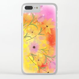 Soft Summer Clear iPhone Case