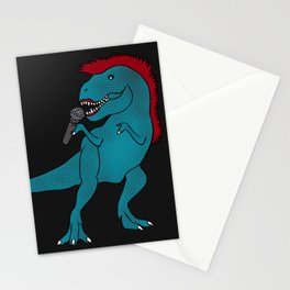 She-Rex Singer Stationery Cards