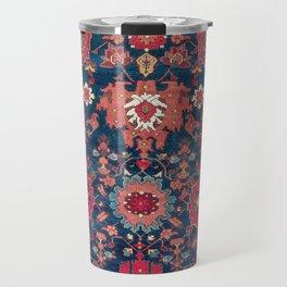 Garahgozloo Hamadan West Persian Rug Fragment Travel Mug