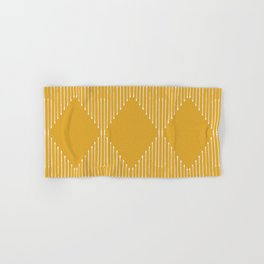 Geo / Yellow Hand & Bath Towel