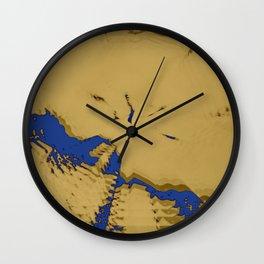 2020 Fall/Winter 11 Mustard Wall Clock