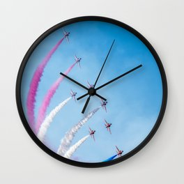 The Red Arrows Wall Clock