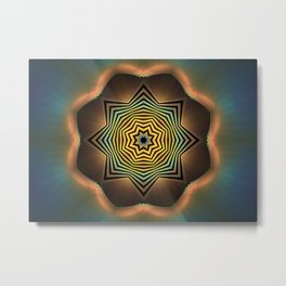 Eight Sides of Zen Metal Print