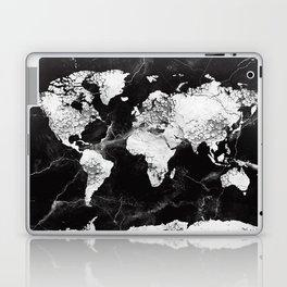 world map marble 4 Laptop & iPad Skin