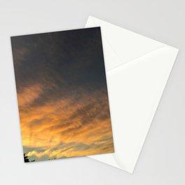 yellow/orange sky Stationery Cards