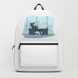 Big Boss Happy National Boss Day Backpack