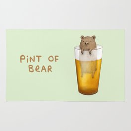 Pint of Bear Rug