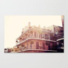 NOLA Sunlight Canvas Print
