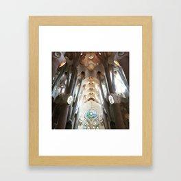 Sagrada Familia Framed Art Print