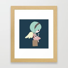 Little Angel Framed Art Print