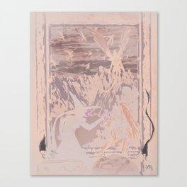 Fly, Monkey Boy, Fly Canvas Print