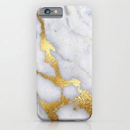 Italian gold marble II iPhone Case