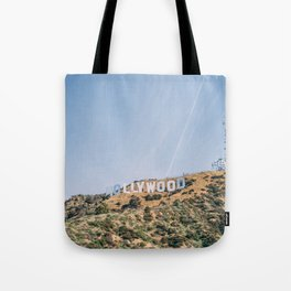 Hollywood Sign Los Angeles Tote Bag