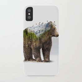 Wild I Shall Stay | Bear iPhone Case