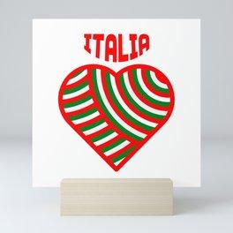 amo l'italia Mini Art Print