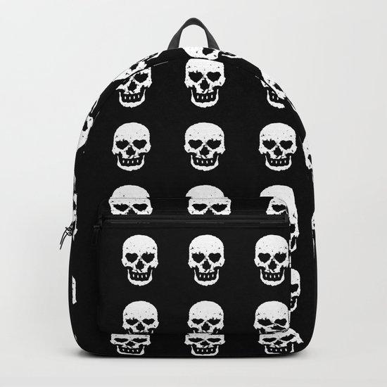Heart Skulls Backpack