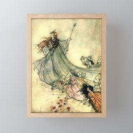 The Fairy Queen Framed Mini Art Print
