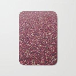 cranberry party Bath Mat