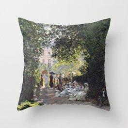 The Parc Monceau Throw Pillow