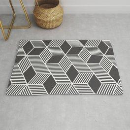 Geometric Cube 02 Rug