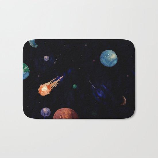 color galaxi Bath Mat