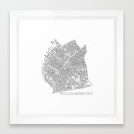 Williamsburg Framed Art Print