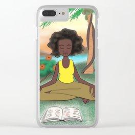 Woke Beauty Clear iPhone Case