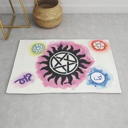 Supernatural Signs Rug