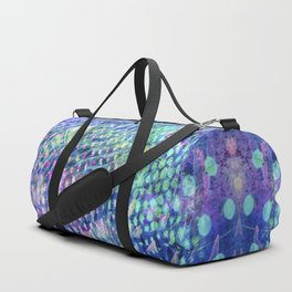 swirl and dots Duffle Bag