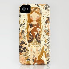 The Queen of Pentacles iPhone (4, 4s) Slim Case