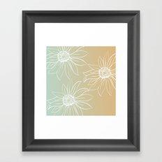 Pretty Daisies Framed Art Print