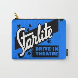 Starlite Drive-In Niagara Falls in Blue Carry-All Pouch