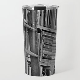 Book Shelves Travel Mug
