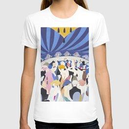 1920s Nightclub Illustration for Vanity Fair T-shirt