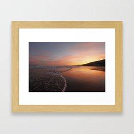 Last light at Dusk Framed Art Print