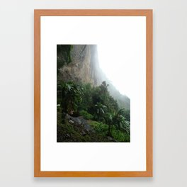 Worlds End Framed Art Print