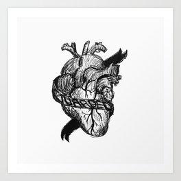Guard Your Heart Art Print