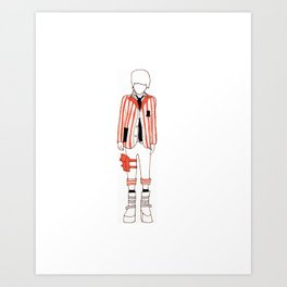 Ryou Art Print