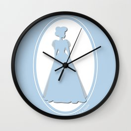The Historical Fashion Plate Series: Victorian Miss Wall Clock