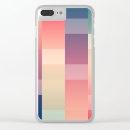 Abstract Sunset #society6 #decor #buyart Clear iPhone Case