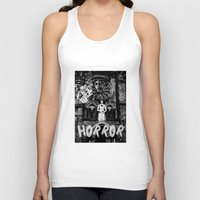 horror Tank Tops featuring Horror by alexflasher