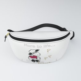 Christian Design - More to Life? Discover Jesus Fanny Pack