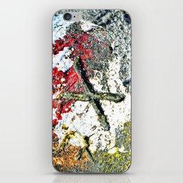 Nautical Art - X Marks The Spot - Sharon Cummings iPhone Skin