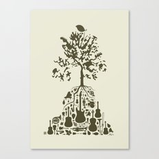 Music Tree Canvas Print