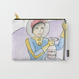 Retro Virus Killer - Save the Planet Carry-All Pouch
