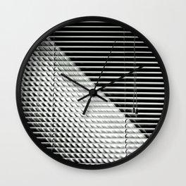 Blind Light Wall Clock