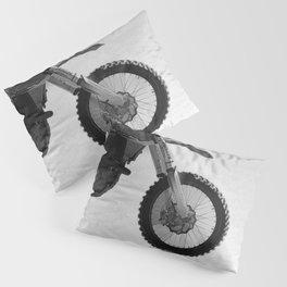 Motocross Dirt-Bike Racer Pillow Sham